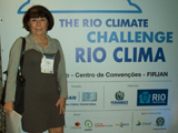 Mireille no evento The Rio Climate Change na FIRJAN